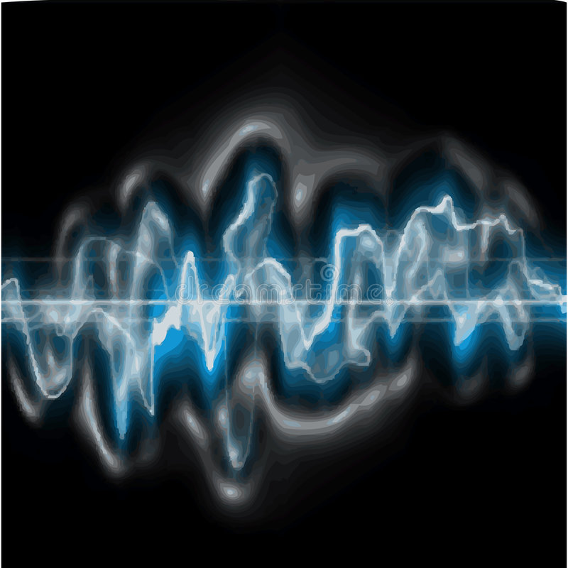 Download Sound Wave stock vector. Image of measure, beat, wave - 6019242