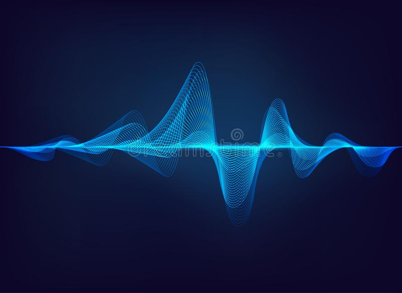 Sound Wave royalty free illustration