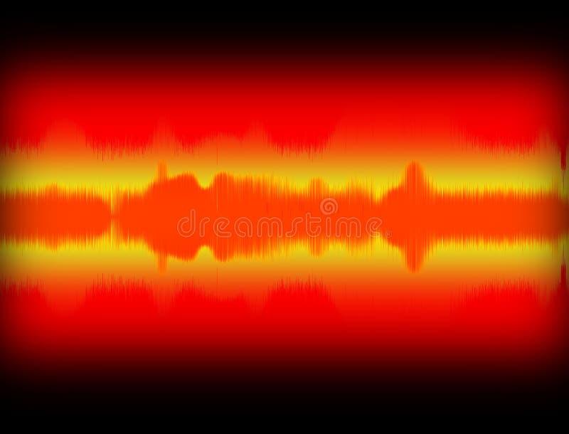 Sound Wave - Audio Equalizer Stock Photo