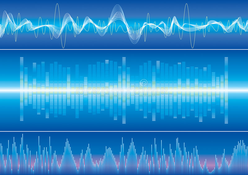 Download Sound Wave Background Stock Photo - Image: 5125970