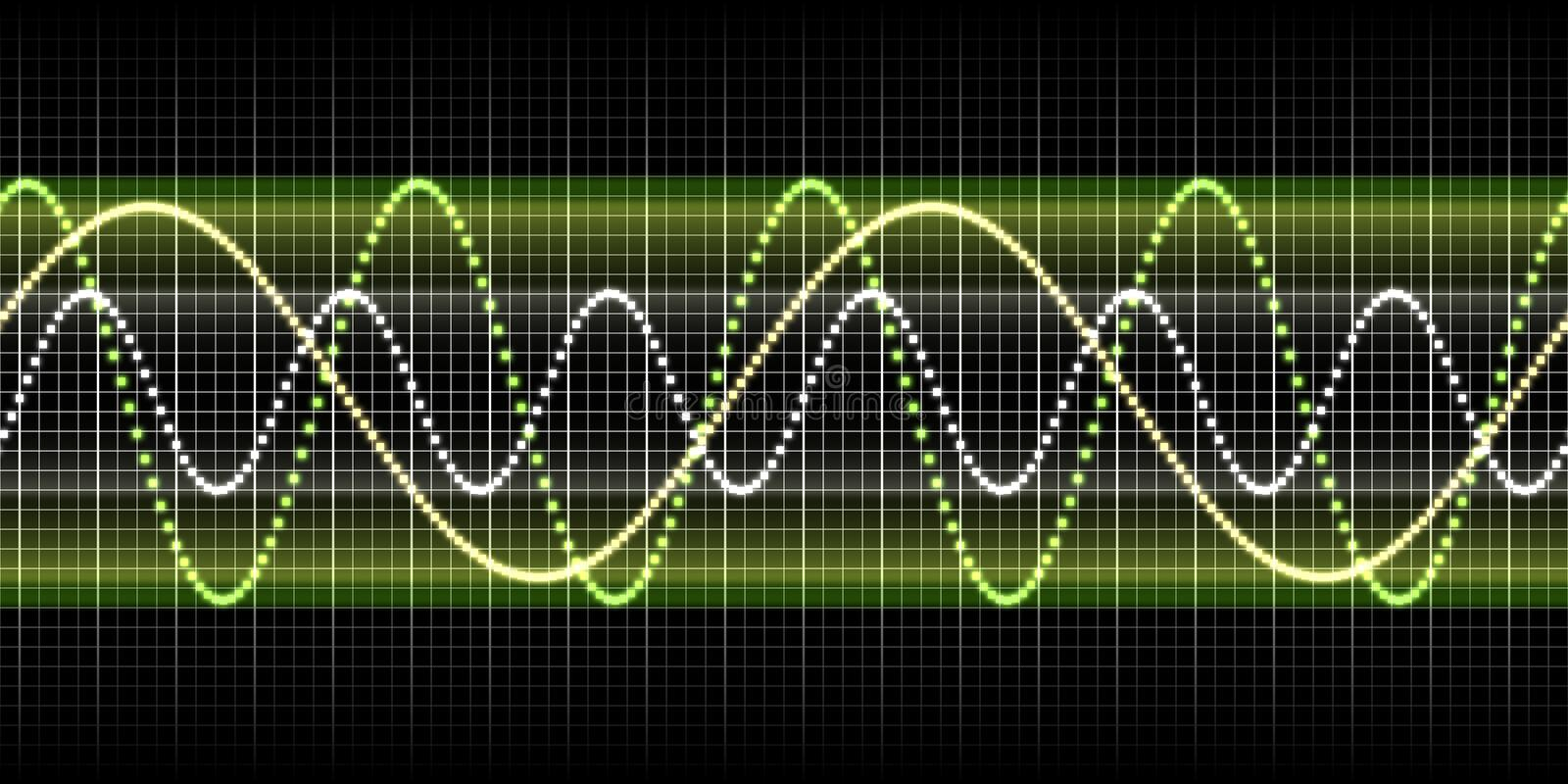 Download Sound wave graphic stock illustration. Illustration of frequency - 11743723