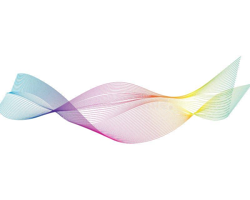 Sound wave icon. Vector stock illustration