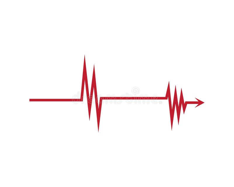 sound wave ilustration logo. vector illustration