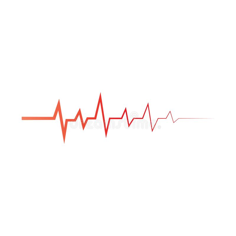 Sound wave logo template vector icon i royalty free illustration
