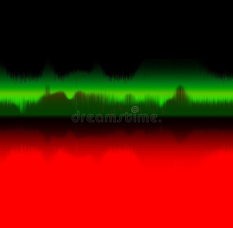 Download Sound wave - music concept stock illustration. Illustration of illustration - 6445500