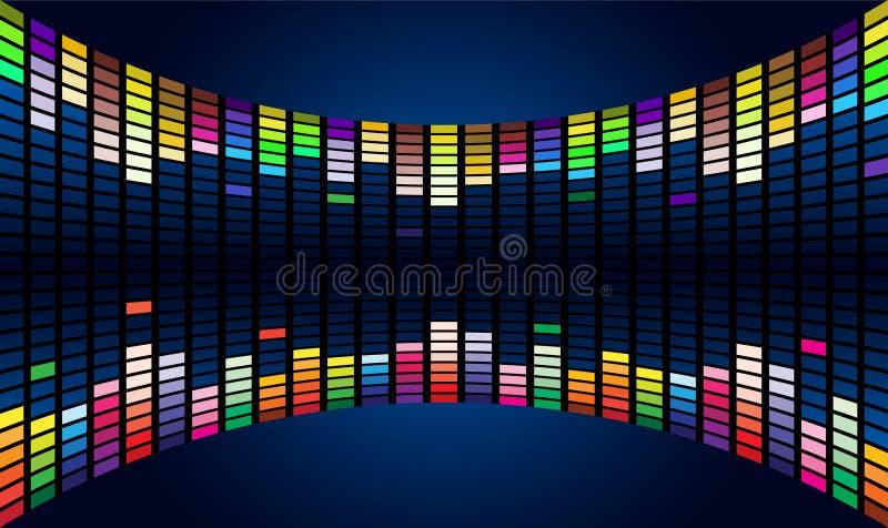 Download Sound waveform stock vector. Image of analysis, display - 17057584