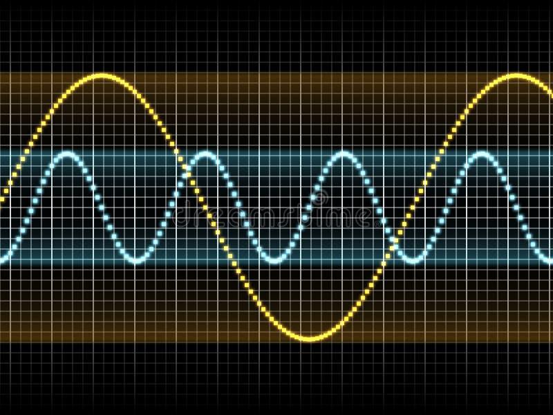 Download Sound Waves stock illustration. Image of sound, color - 11893552