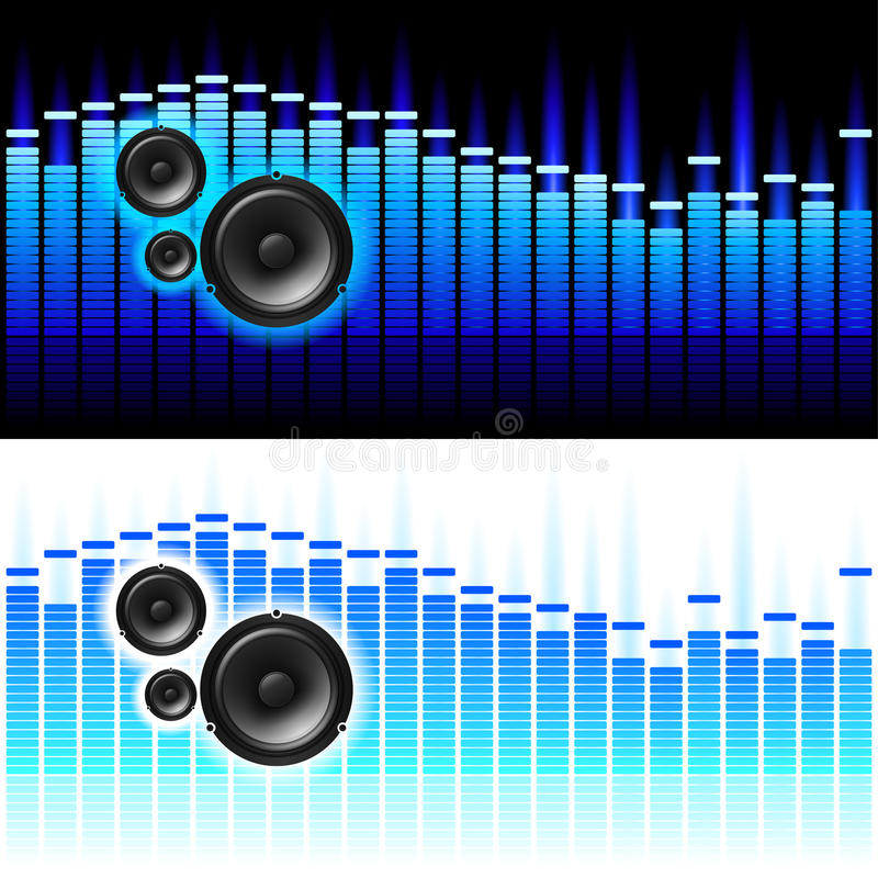 Download Sound Waves stock vector. Image of frequency, digital - 17792228