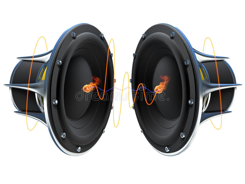 Download Sound Waves Royalty Free Stock Photography - Image: 19081387