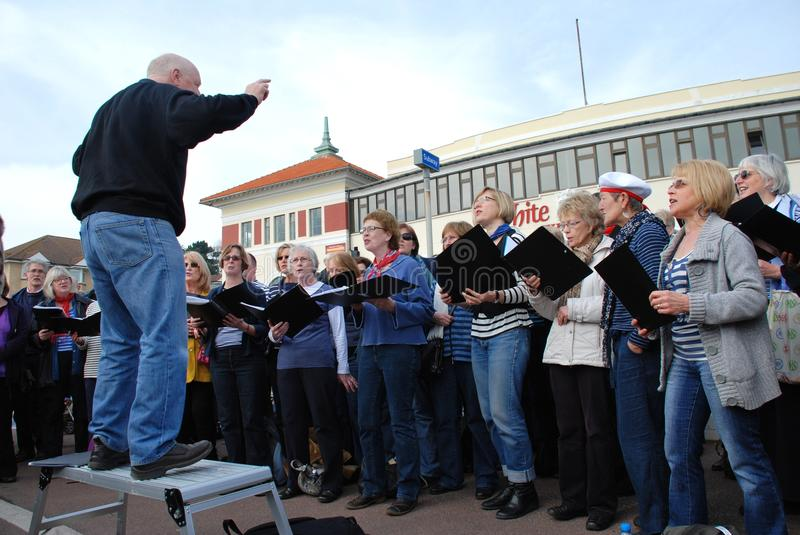 Download Sound Waves Community Choir, Hastings Editorial Image - Image of performance, group: 22089665