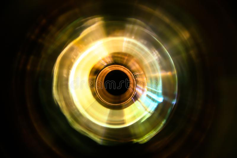 Sound waves in the dark royalty free stock image