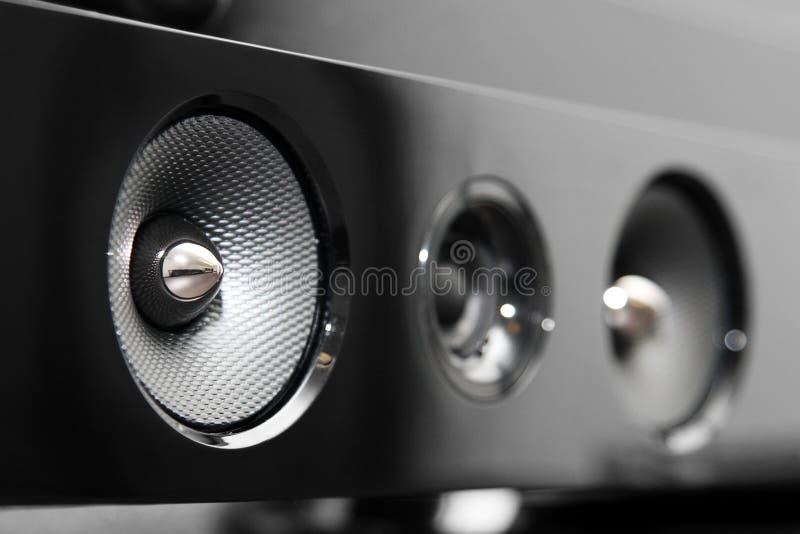 Soundbar报告人 免版税库存照片