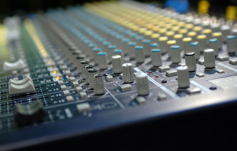 soundboard photographie stock