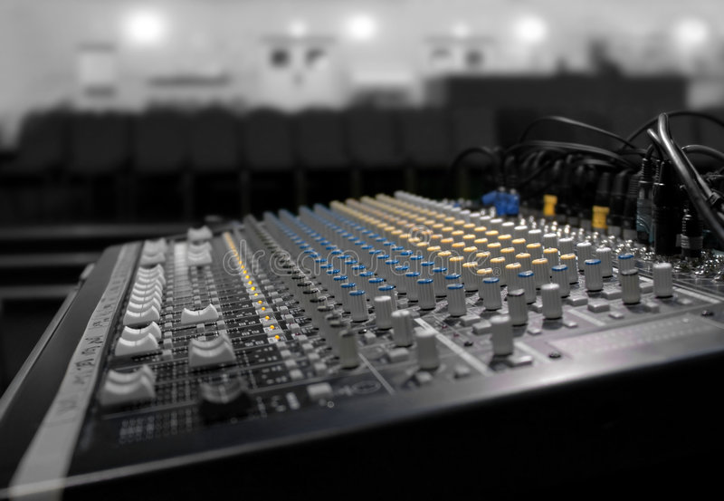 Soundboard Royalty Free Stock Images