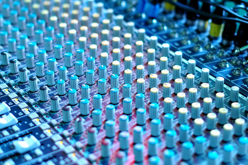 Soundboard fotografia de stock royalty free