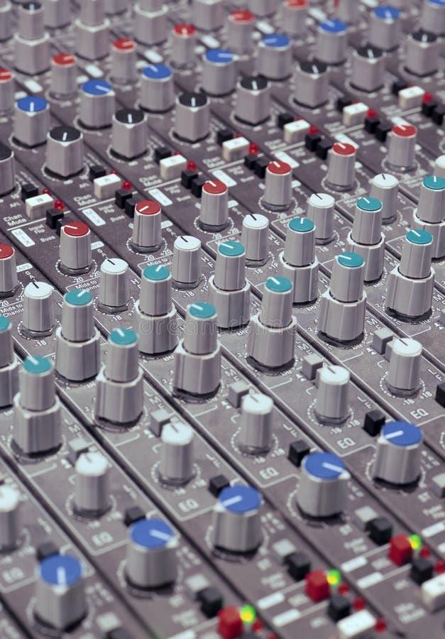 Download Soundboard knobs stock image. Image of digital, equipment - 2080965