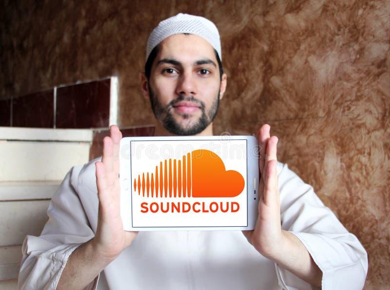 Soundcloud logo obraz stock