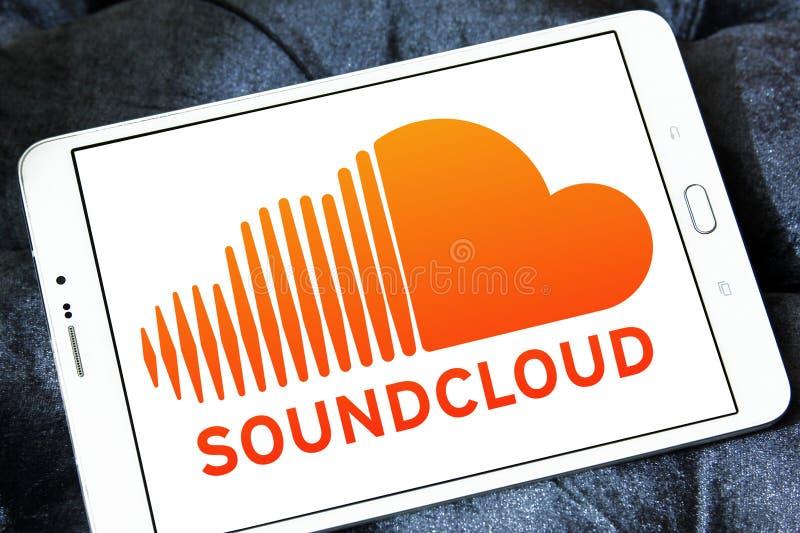 Soundcloud logo obraz royalty free