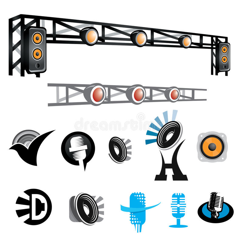 Download Sounds Entertainment stock vector. Illustration of concept - 26644244