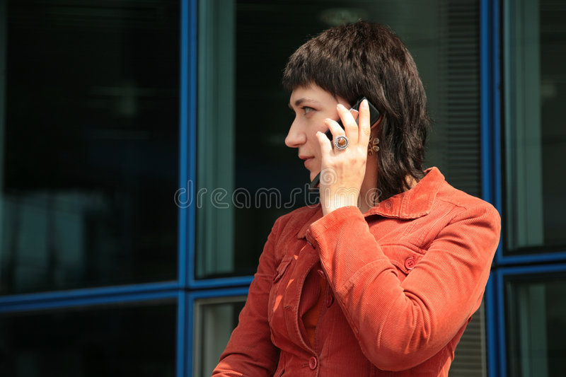 Download Sounds good! stock image. Image of calling, speak, phone - 9295685