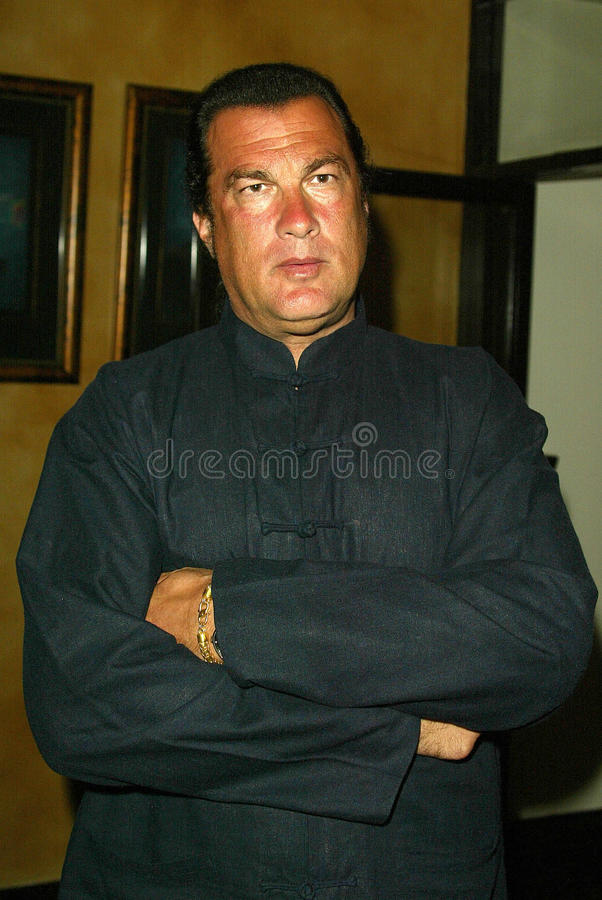 Steven Seagal. At the 'Sounds of the Sacred, Songs of the Earth' awards gala, The Friars of Beverly Hills, Beverly Hills, CA 09-15-05 stock photo