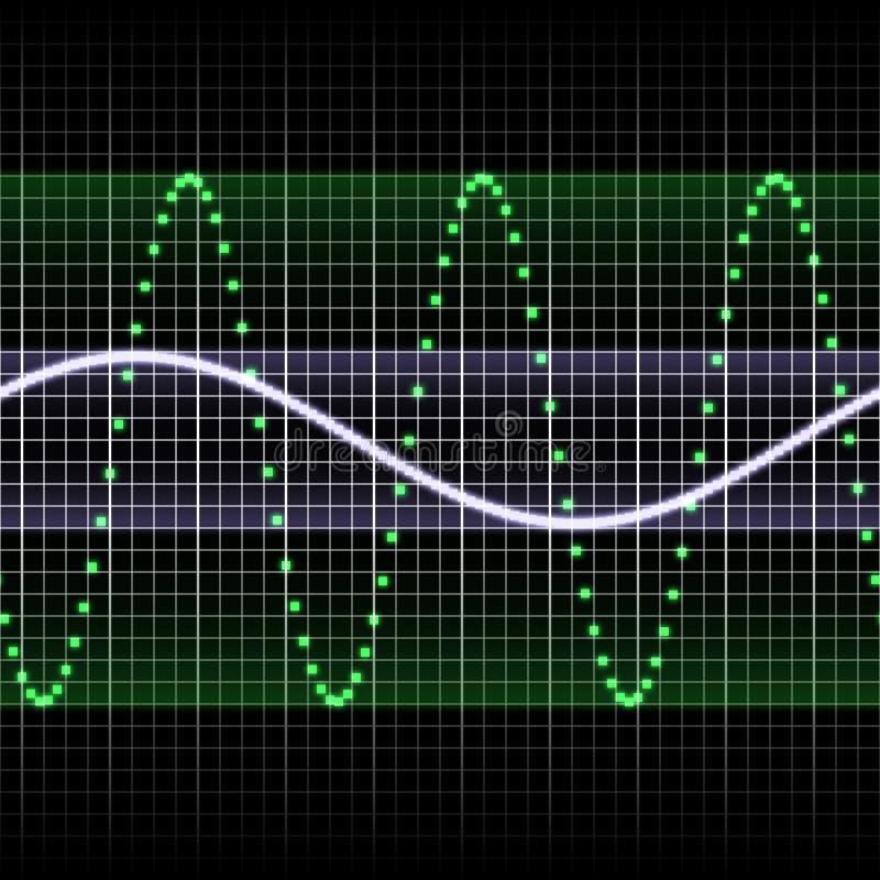 Soundwave stock de ilustración