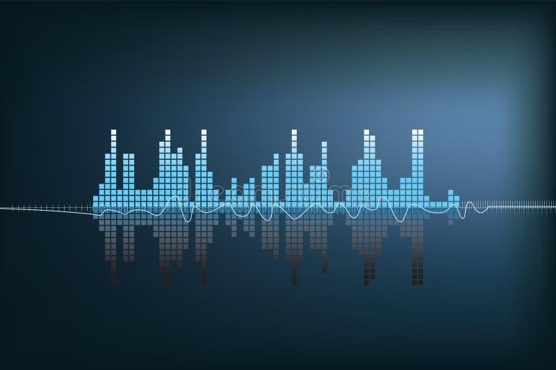 Soundwave ilustración del vector