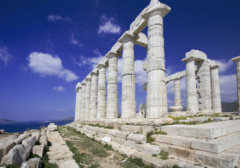 Sounion photos stock