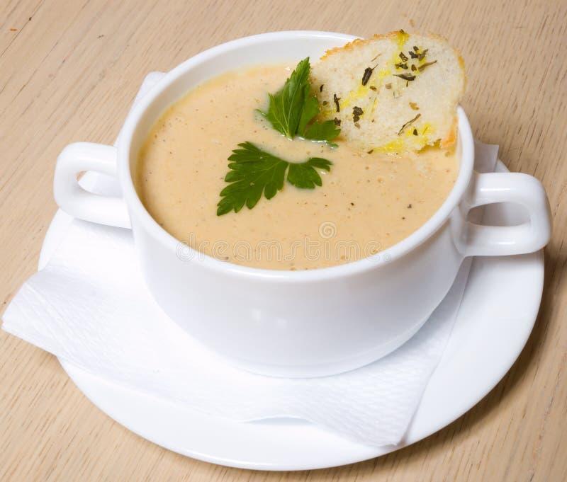 Download Soup stock image. Image of kitchen, chef, fish, garlic - 6323907