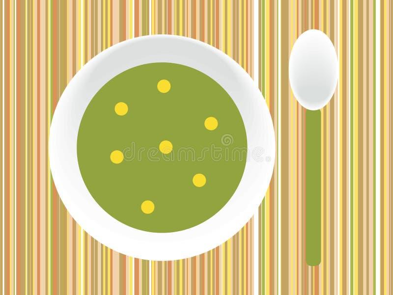 Soup royalty free illustration