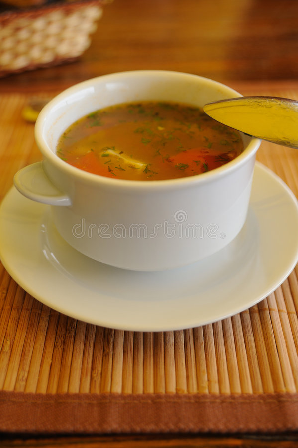 Download Soup stock photo. Image of heat, close, ornate, steam - 9212394
