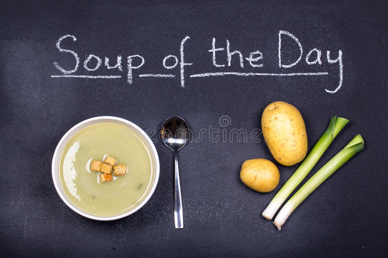 Soup Of The Day Royalty Free Stock Photography