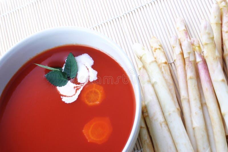 soup tomato fotografering för bildbyråer