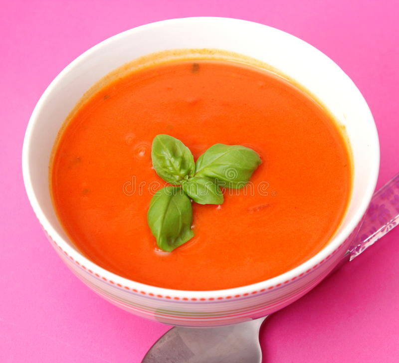 Download Soup Of Tomatoes Stock Photo - Image: 38938551