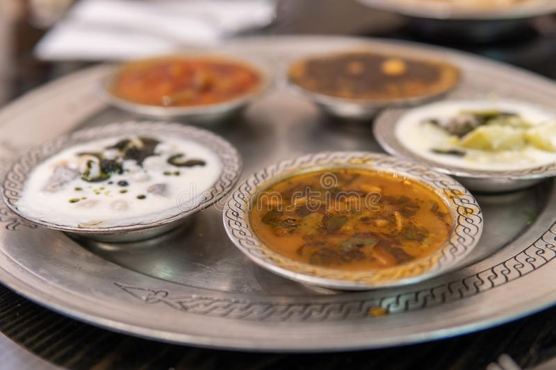 Soup Variety in Gaziantep stock photos