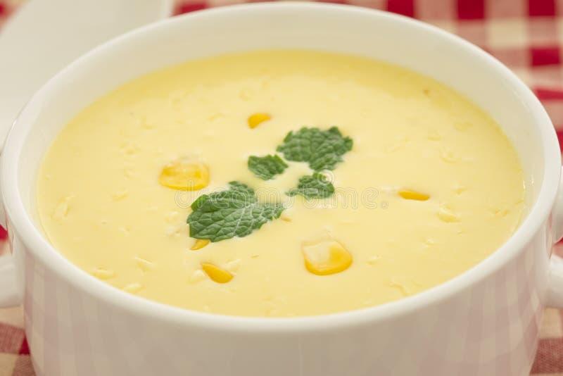 Soupe à maïs photos libres de droits