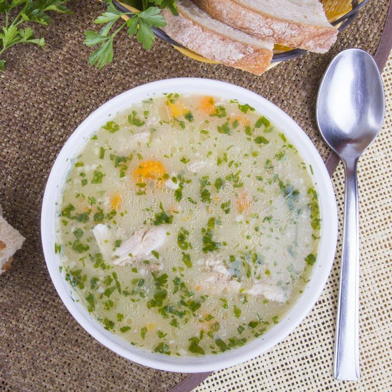 Soupe à orge photo stock