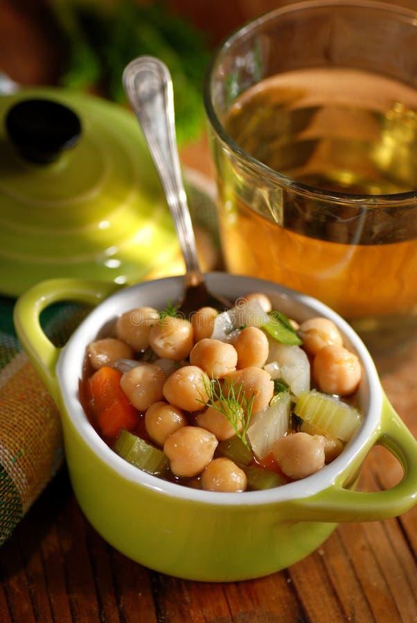 Potage de pois chiche image stock. Image du cuisine..