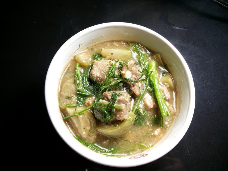 Soupe à porc photos stock