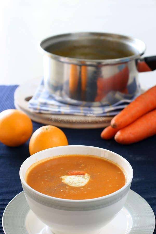 Soupe photo libre de droits