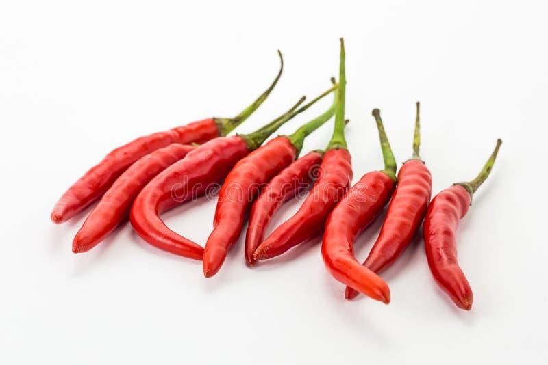 Soupe basse à cari de l'Asie d'épice figée verticale de cosse de Cayenne de poivre de piments de rouge de piment photos stock