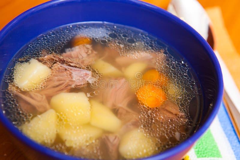 Soupe bulgare à boeuf image stock