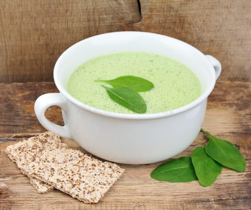 Soupe crème végétale photo libre de droits