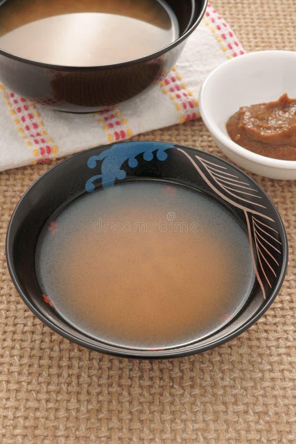 Soupe miso photos stock