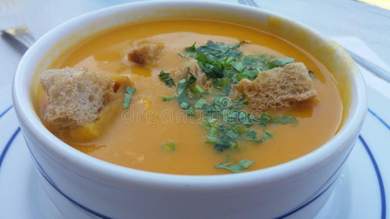 Soupe portugaise à poissons photos stock