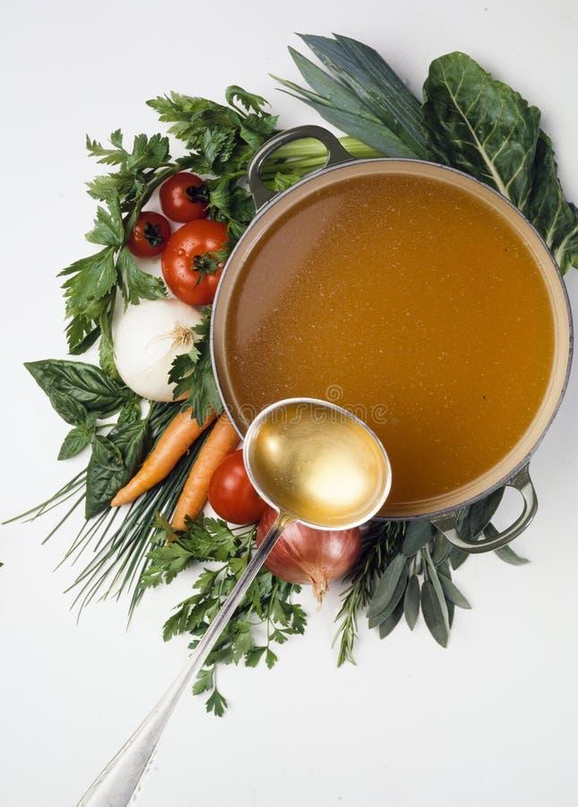 soupgrönsaker arkivbilder