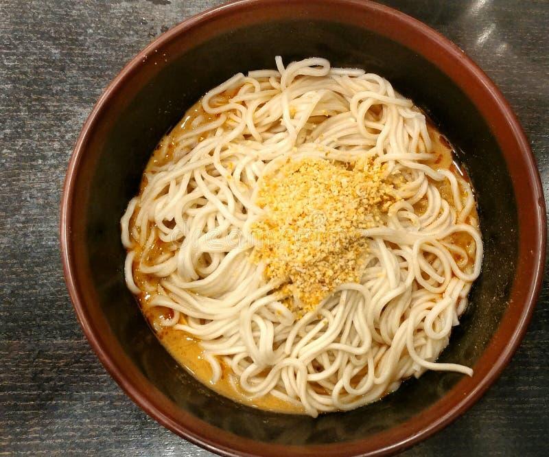 Soupless Noodle Dish- Dandan Mein stock images