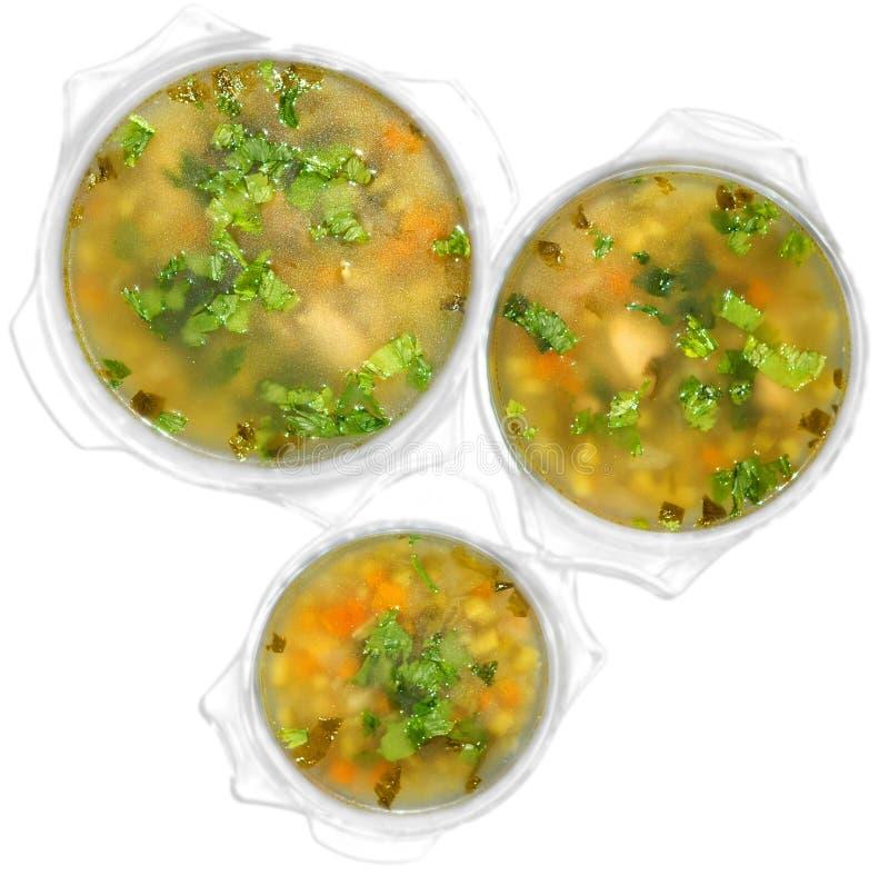 Soups_01 stock fotografie