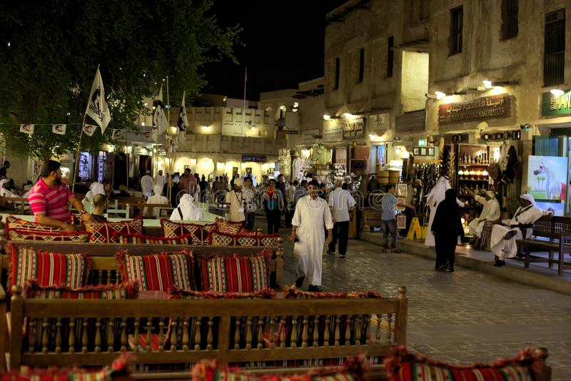 Souq de Doha photos stock