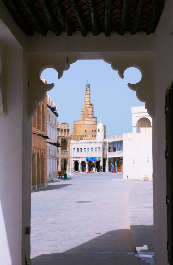 Souq view stock photo